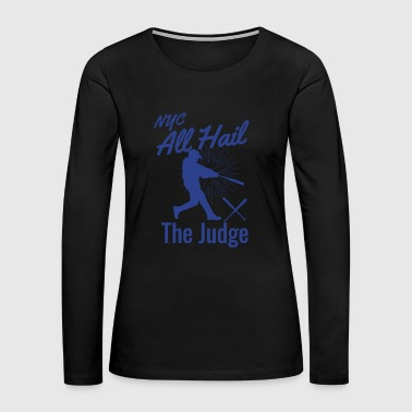 NYC All Hail blue - Women's Premium Long Sleeve T-Shirt