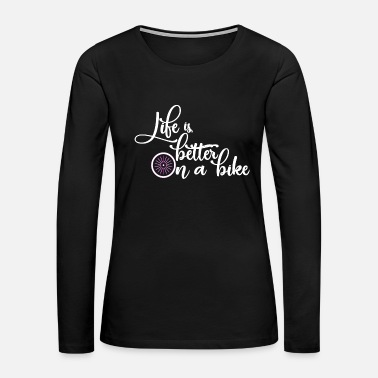 Bmx Bicycle - Women's Premium Long Sleeve T-Shirt