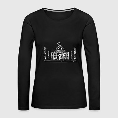 Eternity Taj Mahal - India - Women's Premium Long Sleeve T-Shirt