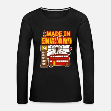 England Made In England Shirt - Women's Premium Long Sleeve T-Shirt