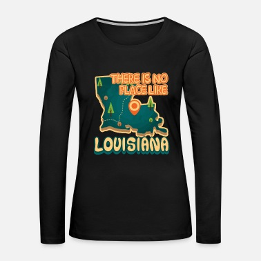 Louisiana I Like Louisiana Shirt - Women's Premium Long Sleeve T-Shirt