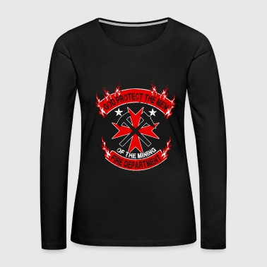The Mining Fire Department - Women's Premium Long Sleeve T-Shirt