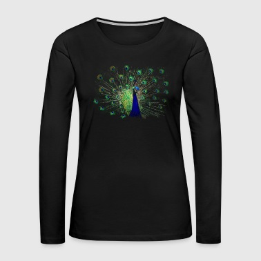 peacock - Women's Premium Long Sleeve T-Shirt