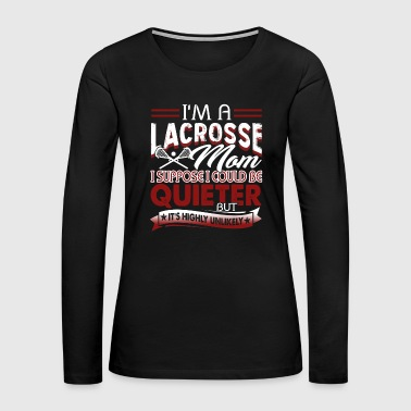 Lacrosse Lacrosse Tee Shirt - Women's Premium Long Sleeve T-Shirt