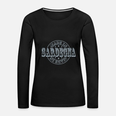 Region Made in Sardegna m1k2 - Women's Premium Long Sleeve T-Shirt