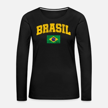 Brazil Brazil - Women's Premium Long Sleeve T-Shirt