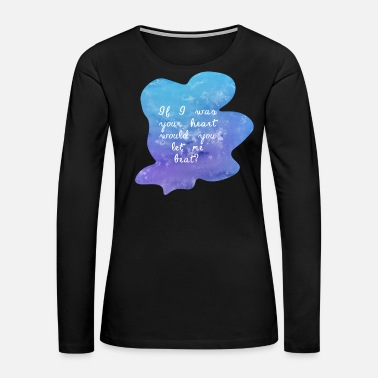 Coloring cool valentines Love Design - Women's Premium Long Sleeve T-Shirt