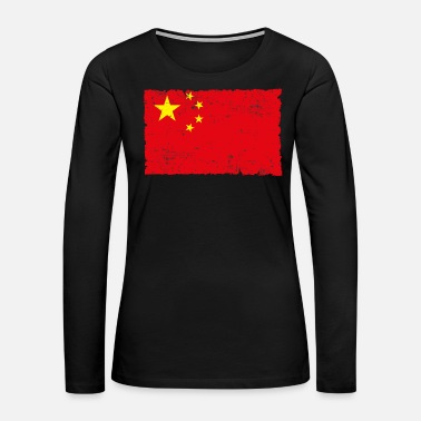 China China - Women's Premium Long Sleeve T-Shirt
