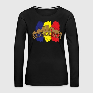 Language Romania gift Bucharest Transylvania Romanian - Women's Premium Long Sleeve T-Shirt
