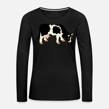 Cow cow - Women's Premium Long Sleeve T-Shirt