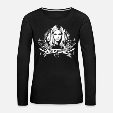 Senior Class protector - Awesome t-shirt for movies fan - Women's Premium Long Sleeve T-Shirt