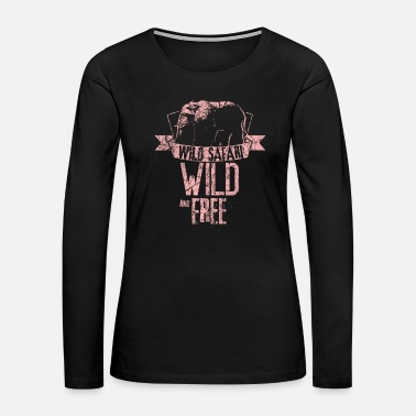 Jungle Safari - Women's Premium Long Sleeve T-Shirt
