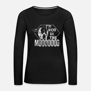 Udder Cow Saying - Women's Premium Long Sleeve T-Shirt