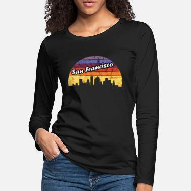 California San Francisco - Women's Premium Longsleeve Shirt