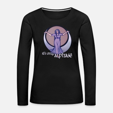 Wicca It's only a phase - Women's Premium Long Sleeve T-Shirt