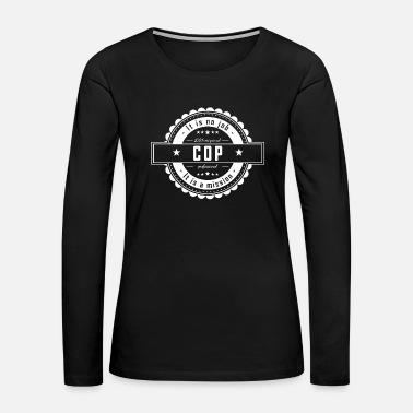Cop COP - Women's Premium Long Sleeve T-Shirt
