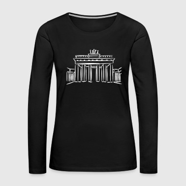 Federal Germany capital Berlin gift - Women's Premium Long Sleeve T-Shirt