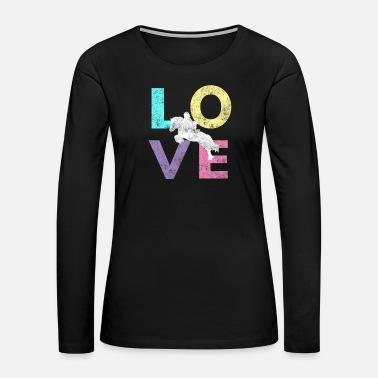 Coach Cute Horse Love gift for lovers of horses - Women's Premium Long Sleeve T-Shirt
