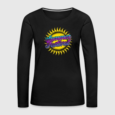 Drugs Summer festival gift - Women's Premium Long Sleeve T-Shirt