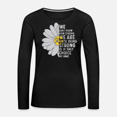 Brain Brain Cancer awareness - Women's Premium Long Sleeve T-Shirt