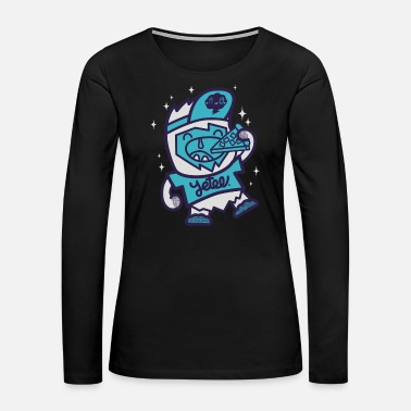 Pizza Yetee - Women's Premium Long Sleeve T-Shirt