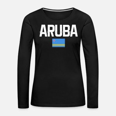 Caribbean ARUBA SHIRT 2 - Women's Premium Long Sleeve T-Shirt