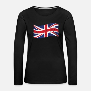 Kingdom Great Britain gift flag flag England - Women's Premium Long Sleeve T-Shirt