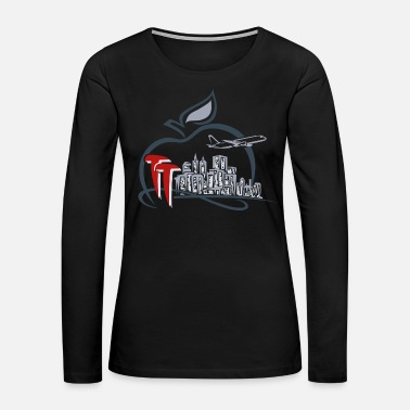 Big Apple TT Big Apple Symbol - Women's Premium Long Sleeve T-Shirt