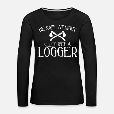 Humor - funny be safe at night! - Women's Premium Long Sleeve T-Shirt