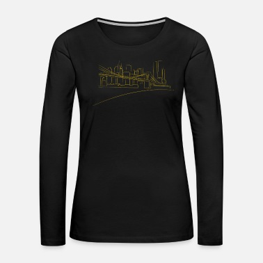 Brooklyn Bridge Brooklyn bridge - Women's Premium Long Sleeve T-Shirt