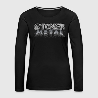 Heavy STONER METAL - Women's Premium Long Sleeve T-Shirt