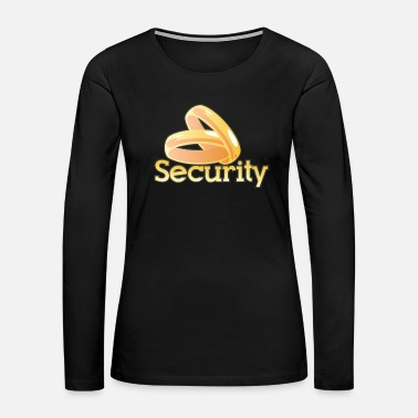 Security Guard Ring Security | Ringbearer Wedding Best Man - Women's Premium Long Sleeve T-Shirt