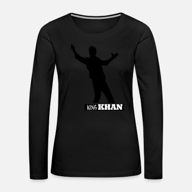 Bollywood KING KHAN - Women's Premium Long Sleeve T-Shirt
