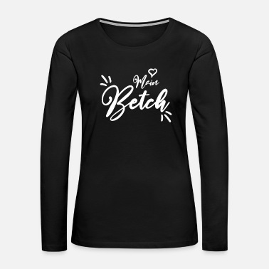 Over Bride party Bachelorette wedding gift present - Women's Premium Long Sleeve T-Shirt