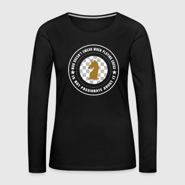 Photography Chess Sport Funny Gift - Women's Premium Long Sleeve T-Shirt