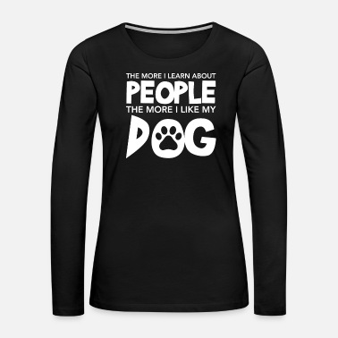 Bulldog Dog - Women's Premium Long Sleeve T-Shirt