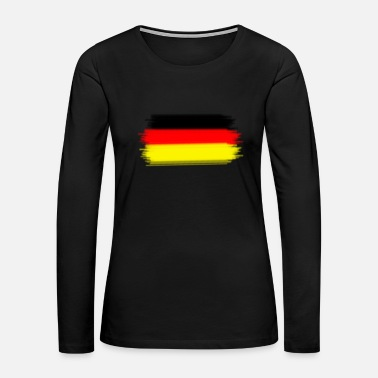Germany-flag (Germany flag) - Women's Premium Long Sleeve T-Shirt