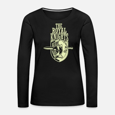 Templar Knights The Royal Knights - Women's Premium Long Sleeve T-Shirt