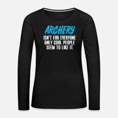Robin Archery - Women's Premium Long Sleeve T-Shirt