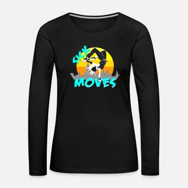 Breakdancing Air Freeze - Women's Premium Long Sleeve T-Shirt