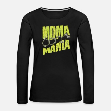 Recreational MDMA Ecstasy - Women's Premium Long Sleeve T-Shirt