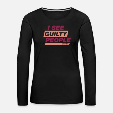 Professional Lawyer Work Gift Profession Funny Birthday - Women's Premium Long Sleeve T-Shirt