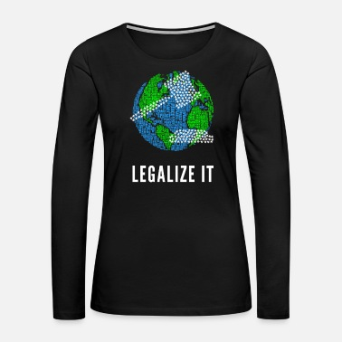 Jamaica Legalize It - Women's Premium Long Sleeve T-Shirt