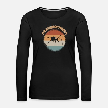 Gingerbread Man Arachnophobia - Women's Premium Long Sleeve T-Shirt