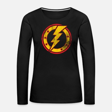 Lightning Bolt T-Shirt Lightning bolt - Women's Premium Long Sleeve T-Shirt