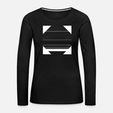 Mathematics minimal geometric 14 - Women's Premium Long Sleeve T-Shirt