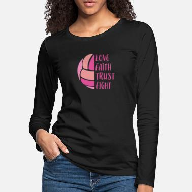 Beach Volleyball Volleyball Girl player gift idea Team beach - Women's Premium Longsleeve Shirt
