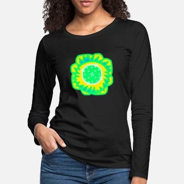 National Artwork flower cool gift - Women's Premium Longsleeve Shirt