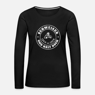 Torch Welding Expert - Welder - Hole To Hole - Women's Premium Long Sleeve T-Shirt