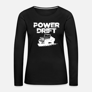 Cross Power Drift Offroad Geländewagen 4x4 4wd Geschenk - Women's Premium Long Sleeve T-Shirt